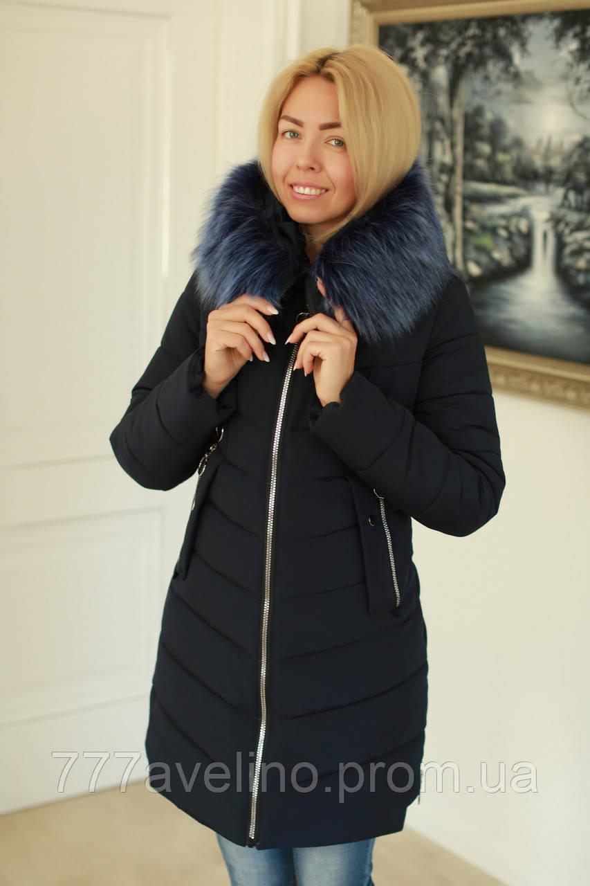 Зимняя куртка женская теплая
