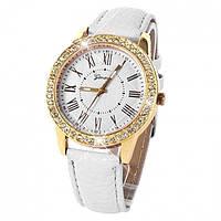 Женские часы Geneva Burberry white