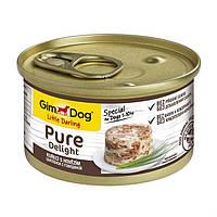 Gimpet GimDog LD Pure Delight курица,говядина 85г*24шт