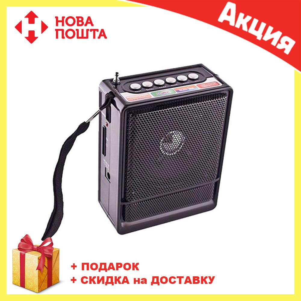 Радио NS 018U  FM цифровой радиоприёмник   Колонка с Mp3 и радио   Портативный приемник   Переносное радио