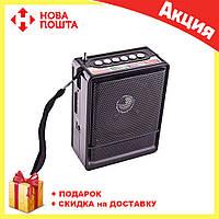 Радио NS 018U  FM цифровой радиоприёмник   Колонка с Mp3 и радио   Портативный приемник   Переносное радио, фото 1