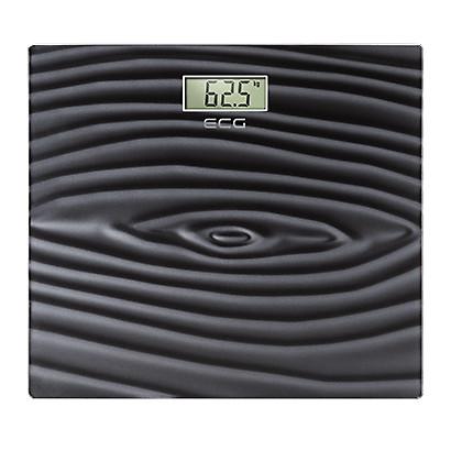Весы напольные ECG OV128 3D Personal Scake 180 кг Черный