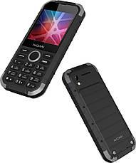 Мобільний телефон Nomi i285 X-treme Чорний/ Сірий, фото 2