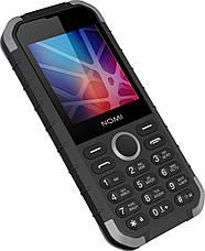 Мобільний телефон Nomi i285 X-treme Чорний/ Сірий, фото 3