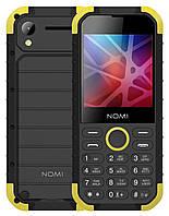 Мобільний телефон Nomi i285 X-treme Чорний/ Жовтий