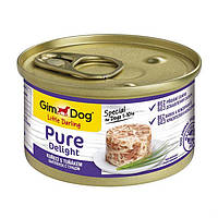 Gimpet GimDog LD Pure Delight курица,тунец 85г*24шт