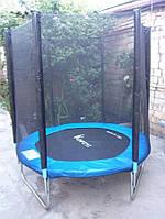 Батут FUNFIT 183 см с защитной сеткой