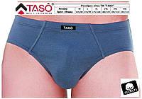 Трусы мужские больших размеров, хлопок, однотонные, без рисунка, TASO 3585