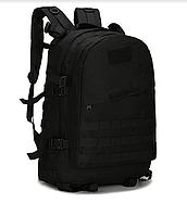 Тактичний, похідний рюкзак Military. 30 L. Чорний, мілітарі.