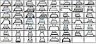 Кенгурятник Dodge Caravan (02-06) защита переднего бампера кенгурятники на для Додж Караван Dodge Caravan (02-06) d60х1,6мм, фото 4