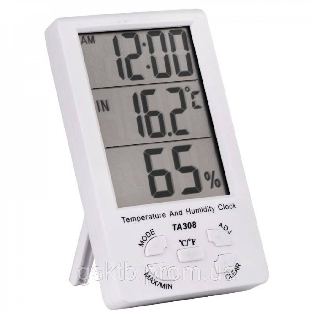Термогигрометр TA308 3 в 1 с Калибровкой