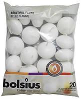 Плавающие свечи Bolsius белые 20 шт (пл20-090)