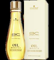 Масло, завершающее лечение для тонких и нормальных типов волос BONACURE OIL MIRACLE 100 мл