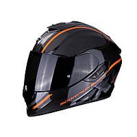 Мотошлем Scorpion EXO-1400 Air Carbon Grand (оранжевый)