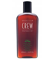 "Шампунь 3-в-1 ""Чайное дерево"" American Crew 3-in-1 Shampoo Tea Tree 450мл"