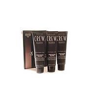 Система маскировки седины (уровень 4-5) American Crew Classic Precision Blend Medium Natural (3x40 мл.)
