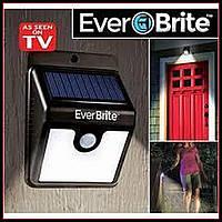 Светильник Ever Brite с датчиком движения на солнечной панели, фото 1