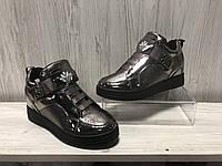 Сникерсы, кроссовки на танкетке, ботинки женские короткие