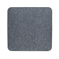 Электрический коврик с подогревом Теплик 50х50 см двусторонний Темно-серый