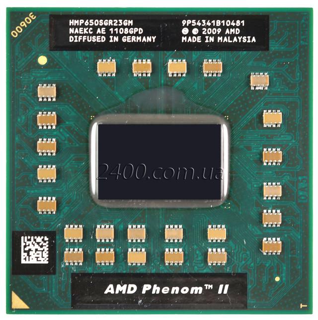 Процессор AMD Phenom II Dual-Core Mobile P650 для ноутбука  HMP650SGR23GM