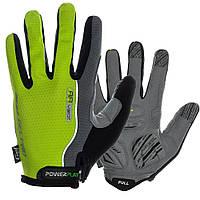 Велоперчатки PowerPLAY 6551/XXL/Grey-green, фото 1
