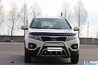 Кенгурятник Ford Transit (14+) защита переднего бампера кенгурятники на для Форд Транзит Ford Transit (14+) d51х1,6мм