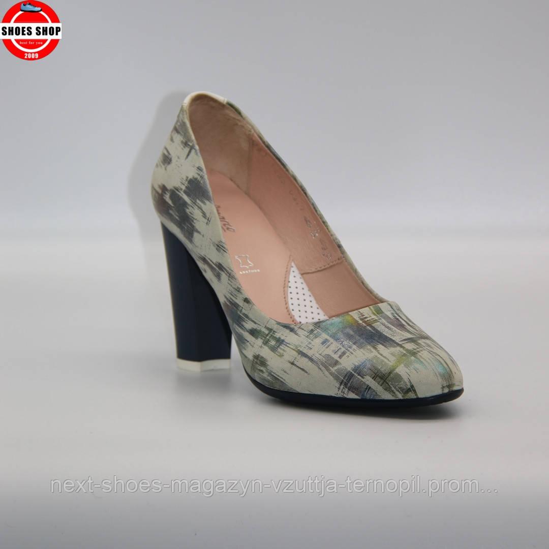 Жіночі туфлі Marco (Польща) білого кольору. Красиві та комфортні. Стиль: Керім ван Хаутен
