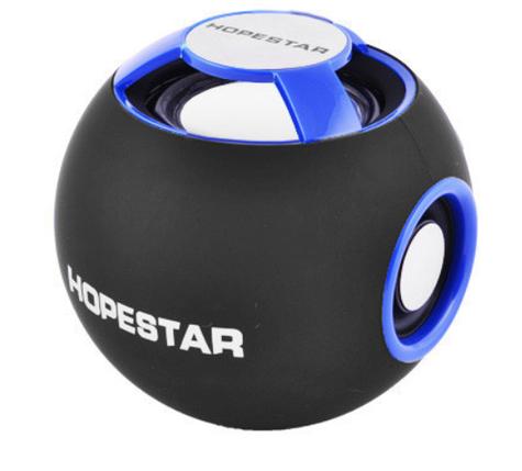 Портативная Bluetooth колонка HOPESTAR H46 Blue, фото 2