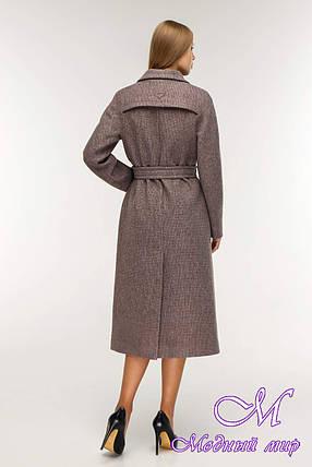 Пальто жіноче демісезонне вовняне (р. 44-54) арт. 1194 Тон 3, фото 2
