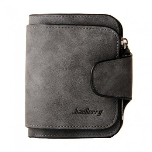 Жіночий компактний гаманець Baellerry Forever mini 2346 темно-сірий