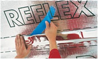 DORKEN DELTA®-REFLEX  180г Пароизоляция с алюминиевым напылением
