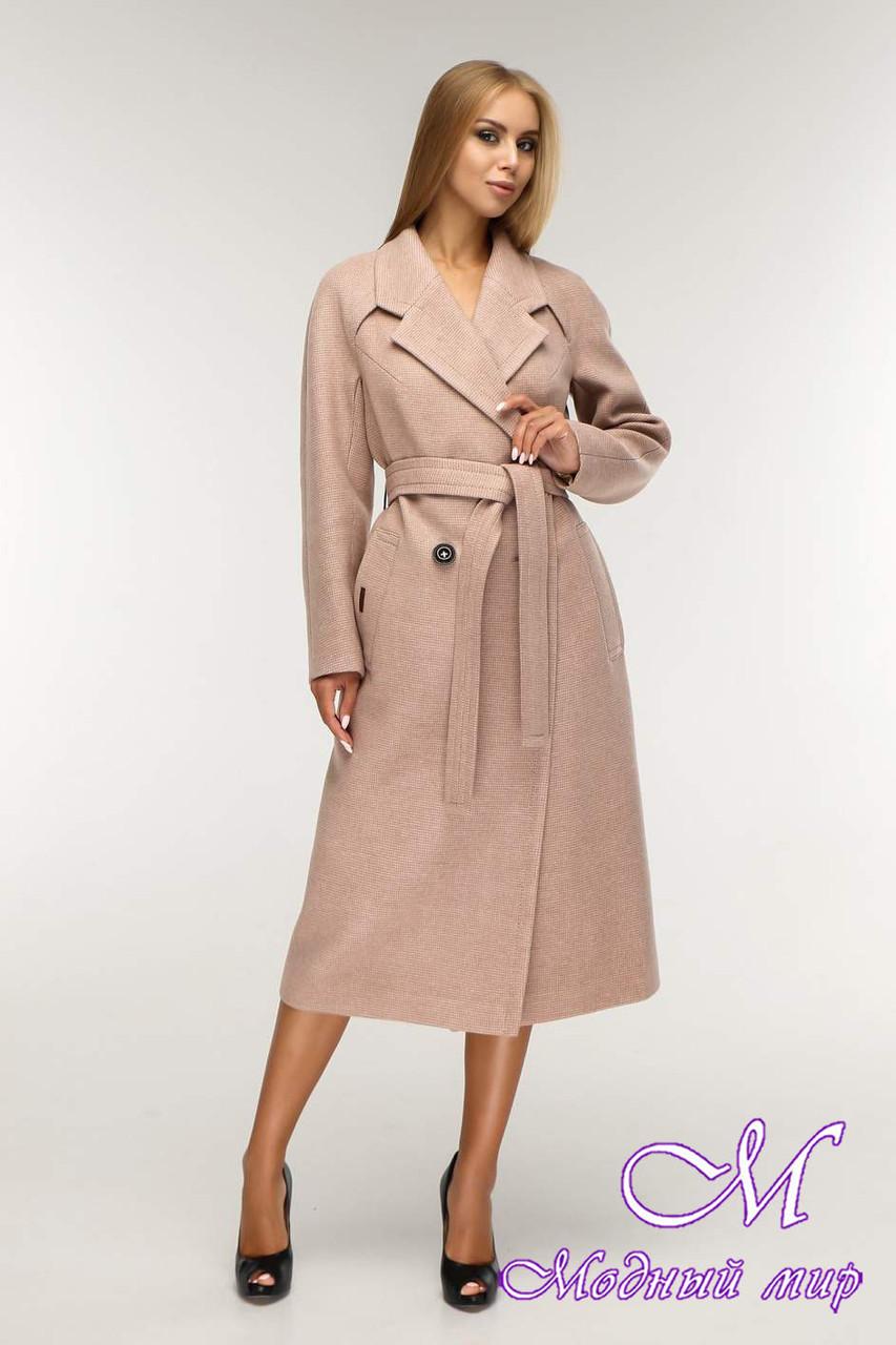Пальто женское демисезонное (р. 44-54) арт. 1194 Тон 10