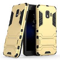 Чехол-накладка Armor Case Samsung J2 Core (J260) Золотая