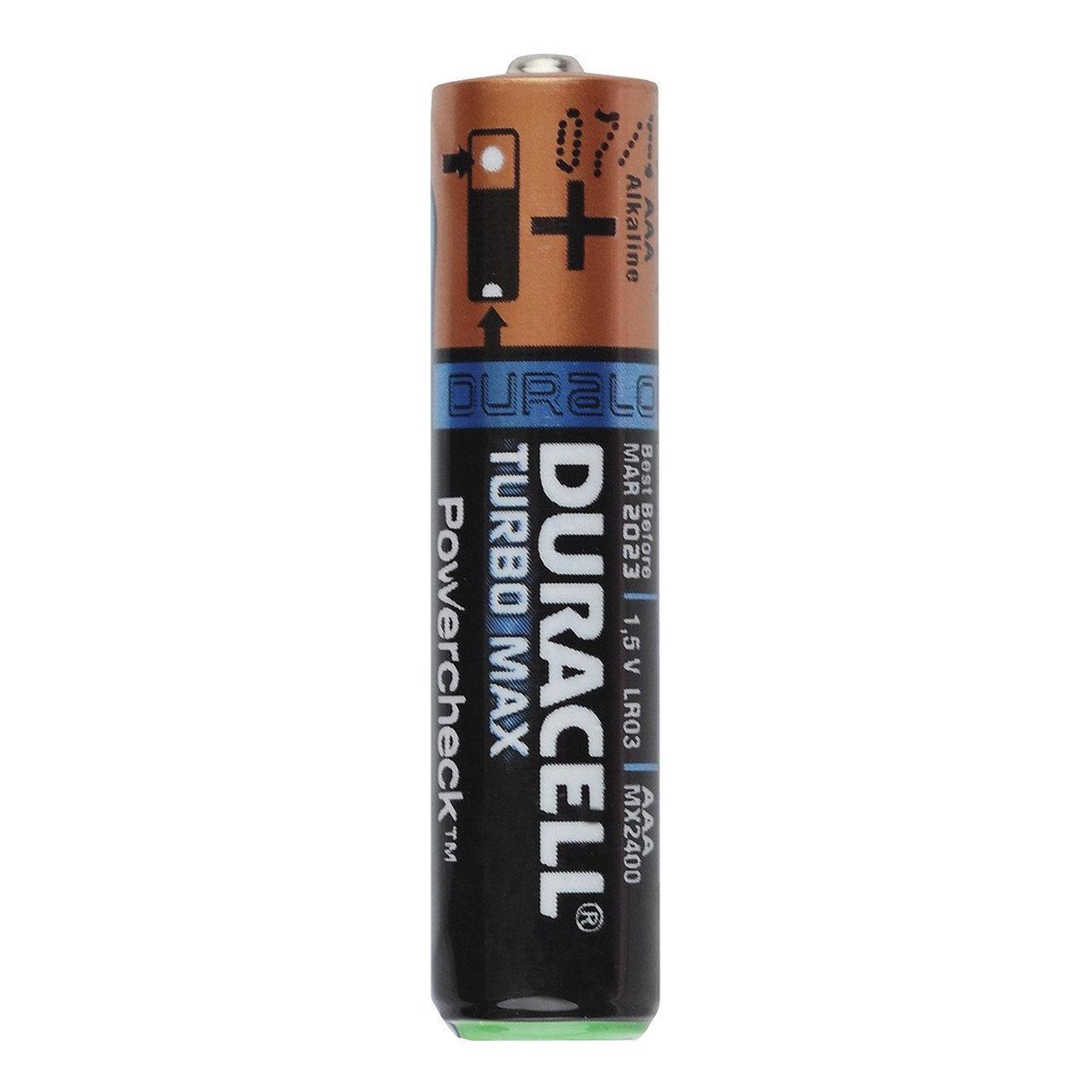 Батарейка Duracell LR03 Turbo Max (1 шт.)