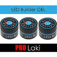 PRO-Laki Led Builder GEL 30ml. LED Гель для наращивания ногтей.
