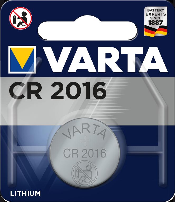 Батарейка Varta CR2016 (1 шт.)