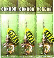 Вращающаяся блесна Condor, цвет B9, 12гр