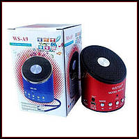 Портативная колонка в металлическом корпусе MP3 от USB FM WS-A9