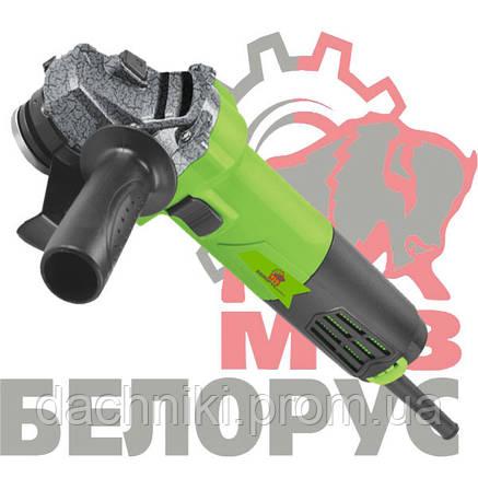 Болгарка (кутова шліфмашина) Білорус МТЗ МШУ 125-1210, фото 2