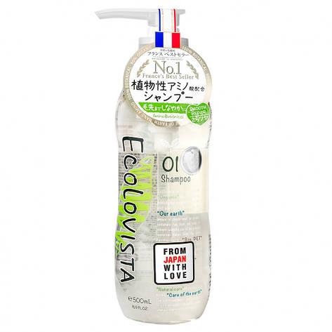 Шампунь для волос Ecolovista Smooth Repair Восстановление 500 мл (890161), фото 2