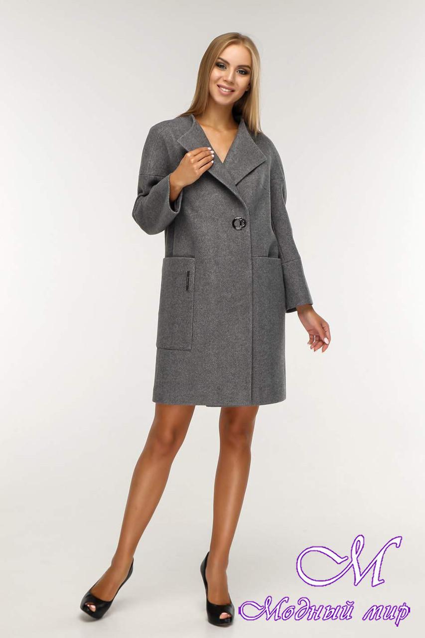 Женское красивое демисезонное пальто (р. 44-58) арт. 1204 Тон 25