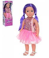 Кукла музыкальная M 3920 дитяча лялька (Ника) UA 48см