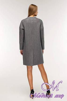 Женское красивое демисезонное пальто (р. 44-58) арт. 1204 Тон 25, фото 2