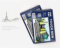 Альбом для маркеров А5 30 листов бумага для скетчинга Touch New 20-01009