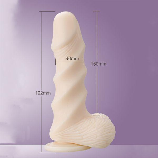 Фаллоимитатор Leten Super Muscle Large (19,2 см)