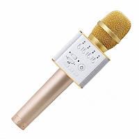 Беспроводной микрофон-караоке bluetooth Q9(коробка)