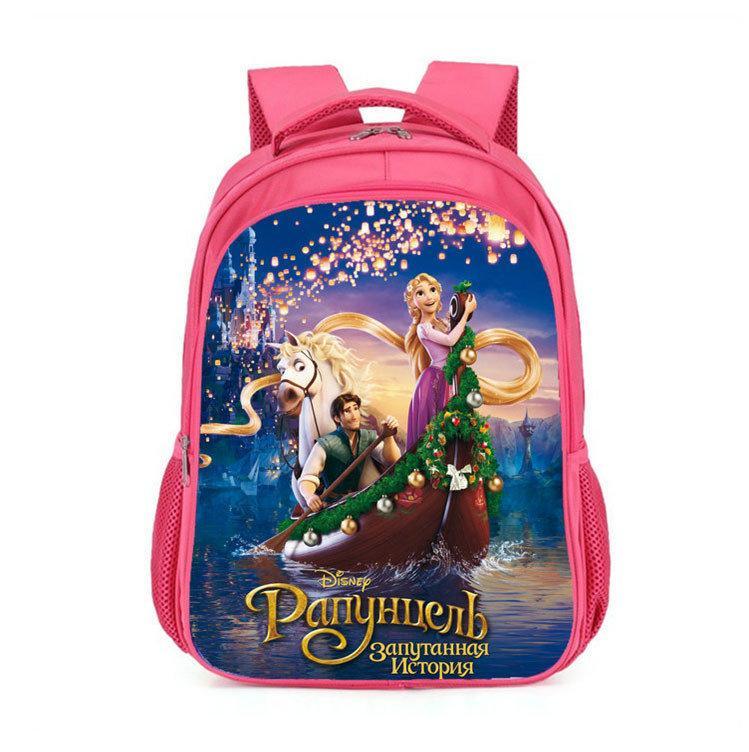 Шкільні рюкзаки для дівчаток з малюнком Рапунцель