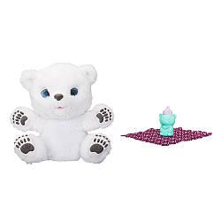 """Интерактивная мягкая игрушка Hasbro FurReal Friends """"Полярний Медвеженок"""", белый (B9073)"""