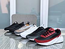 Мужские модные кроссовки Adidas Sharks,черные, фото 3