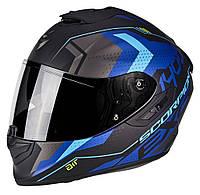 Мотошлем Scorpion EXO-1400 Air Trika (синий)